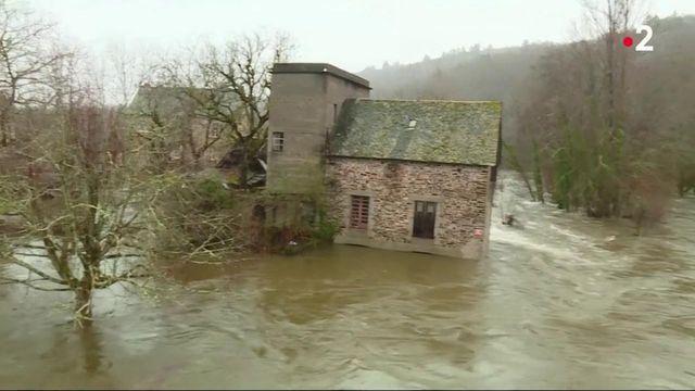 Corrèze : après la montée des eaux, de gros dégâts matériels sont constatés