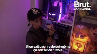 """VIDEO. """"Si on sait pas rire de soi-même, ça sert à rien"""", confiait Rania (BRUT)"""