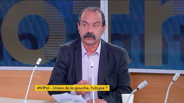"""Philippe Martinez estime """"peu probable"""" une union de la gauche en vue de l'élection présidentielle de 2022"""