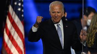 Joe Biden le 7 novembre 2020. (JIM WATSON / AFP)