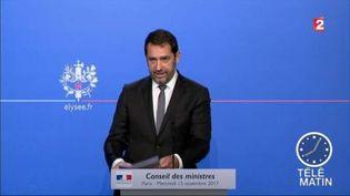 Christophe Castaner va devenir le patron du parti LREM. (FRANCE 2)