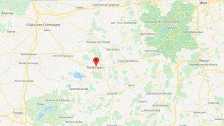 Saint-Dizier (Haute-Marne). (CAPTURE D'ECRAN GOOGLE MAPS)