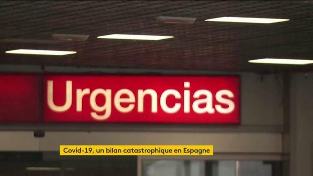 Coronavirus : l'Espagne et se soignants au bord du gouffre