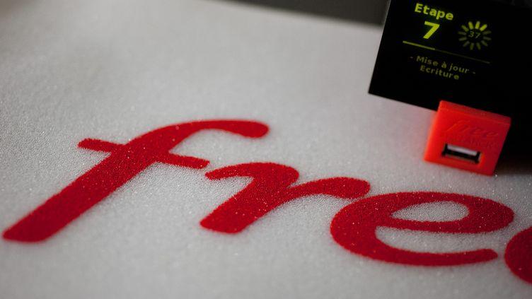 Free a désactivé, le 7 janvier 2013, le blocage de la publicité, prévu dans une mise à jour de la Freebox Revolution. ( MAXPPP)