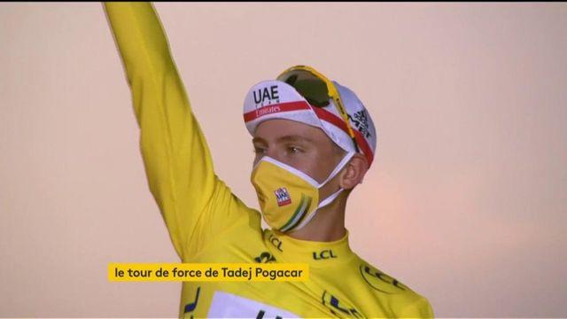 Tour de France : victoire inédite du jeune slovène Tadej Pogacar