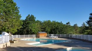La piscine du camping. (Charles de Quillacq)