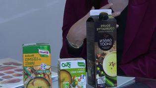 Que contiennent vraiment les soupes industrielles achetées en supermarché, et quelles sont leurs véritables valeurs nutritionnelles ? France 2 a mené l'enquête. (France 2)