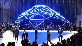 Défilé masculin Adidas au 89th Pitti Immagine Uomo, à Florence, 14/01/2016  (MAURIZIO DEGL' INNOCENTI)