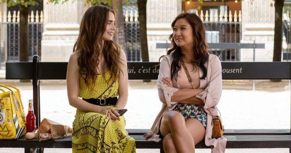 Emily (Lily Collins) et Mindy (Ashley Park). (NETFLIX)