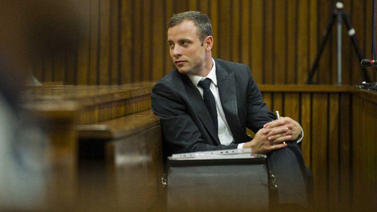 Oscar Pistorius (ALET PRETORIUS / POOL)