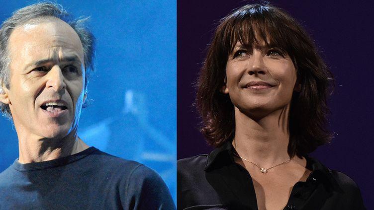 Jean-Jacques Goldman et Sophie Marceau, personnalités préférées des Français en 2019. (PHOTOPQR/LE MIDI LIBRE / MAXPPP / TIZIANA FABI / AFP)