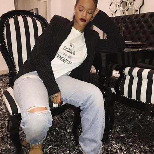 Capture écran du compte Instagram de Rihanna, le 25 janvier 2018. (RIHANNA)