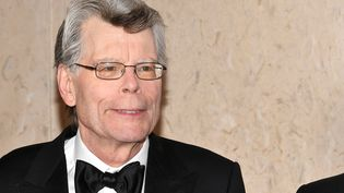 Stephen King lors d'un gala au muséum d'Histoire naturelle de New York en 2018.  (DIA DIPASUPIL / GETTY IMAGES NORTH AMERICA)