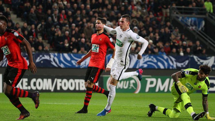 En février 2017, au Roazhon Park, Rennes et le PSG s'étaient déjà rencontrés en 16e de finale de coupe de France