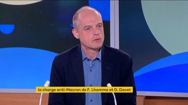 """Avec """"Le traître et le néant"""", Fabrice Lhomme et Gérard Davet se penchent sur le quinquennat d'Emmanuel Macron"""
