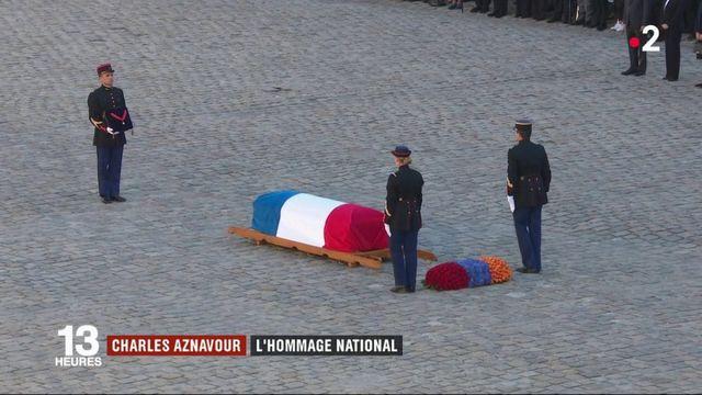 Charles Aznavour : un hommage national rendu aux Invalides