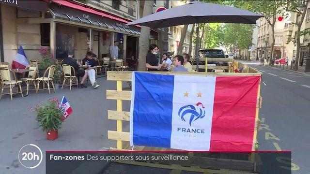 France-Allemagne : de nombreux Français vont suivre le match dans des fan zones ou en terrasses