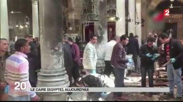 Égypte : attentat dans une église copte orthodoxe du Caire