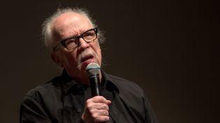 John Carpenter répondant au public de la Quinzaine des Réalisateurs le 15 mai 2019 (Jean-François Lixon)