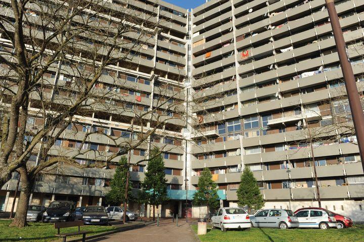 Dans le quartier de La Reynerie, à Toulouse, le 30 mars 2012. (NATHALIE SAINT AFFRE / MAXPPP)