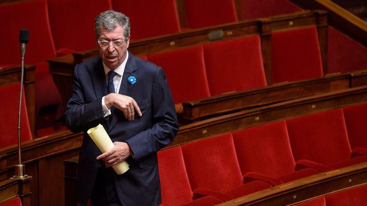 Le député-maire UMP Patrick Balkany à l'Assemblée nationale, le 4 novembre 2014. (MAXPPP)
