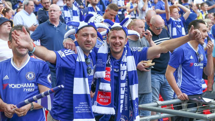 Les supporters de Chelsea (SEBASTIAN FREJ / PRO SPORTS IMAGES LTD)
