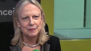 Brigitte Grésy est la Secrétaire générale du Conseil supérieur de l'égalité professionnelle entre les femmes et les hommes. (RADIO FRANCE / CAPTURE D'ÉCRAN)