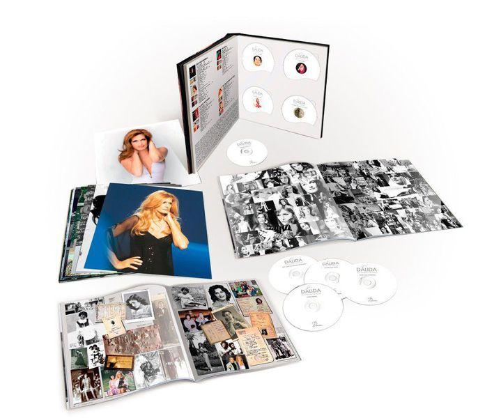 """Dalida : coffret """"Les Diamants sont éternels""""  (Universal Music)"""