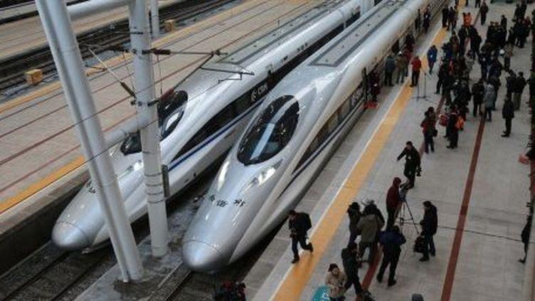 La Chine a inauguré la plus longue ligne à grande vitesse du monde le 26 décembre 2012 (AFP)