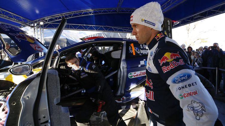 Sébastien Ogier (Ford) déjà en forme en ce début de saison (FRANCOIS BAUDIN / AUSTRAL)
