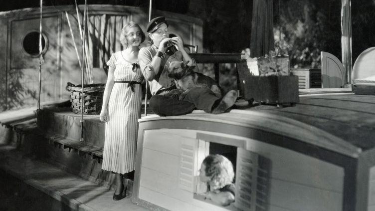"""""""La Belle Marinière"""", Harry Lachman, 1932  (LES STUDIOS PARAMOUNT / ARCHIVES DU 7EME ART / PHOTO12 / AFP)"""