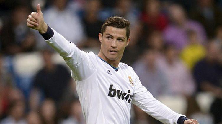 Cristiano Ronaldo, l'attaquant du Real Madrid