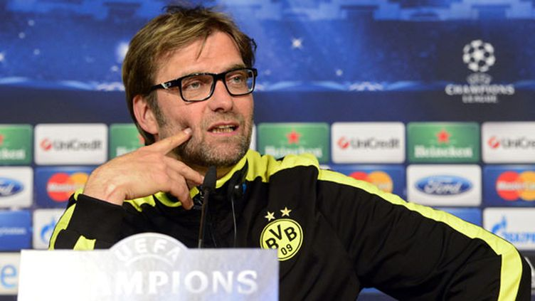 Jurgen Klopp, l'entraîneur du Borussia Dortmund