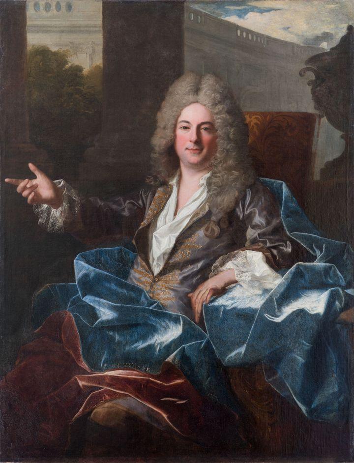 Jean Ranc (Montpellier, 1674 – Madrid 1735), Portrait de Joseph, futur baron de la Mosson, 1702, huile sur toile, 146 x 116 cm, (Musée Fabre de Montpellier Méditerranée Métropole- photographie Frédéric Jaulmes)