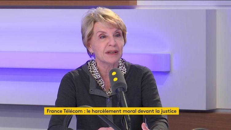 Marie-France Hirigoyen, psychiatre et psychanaliste, le 3 mai 2019 sur franceinfo. (FRANCEINFO / RADIOFRANCE)