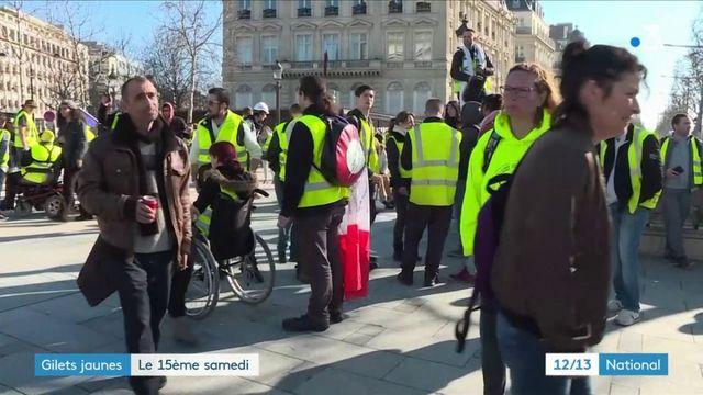 """""""Gilets jaunes"""" : un quinzième samedi de mobilisation partout en France"""