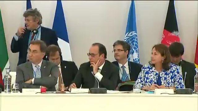 Jean-Louis Borloo, maître de cérémonie à la conférence sur l'Afrique à la COP21