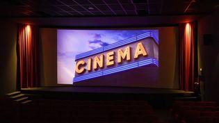 La salle du cinéma Olympia, à Cannes, le 1er juillet 2020. (SYSPEO / SIPA)