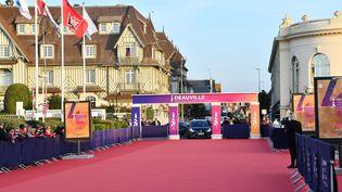 Tapis rouge du festival de Deauville en 2019. (JACQUES BENAROCH/SIPA)