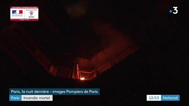 Incendie meurtrier à Paris