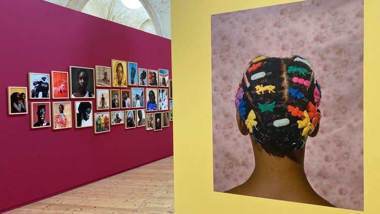 """Exposition """"TheNewBlackVanguard, Photographie entre art et mode"""", Rencontres d'Arles, 19 juillet 2021 (Laurence Houot / FRANCEINFO CULTURE)"""