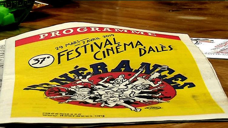 Couverture du programme de la 37e édition du Festival Cinéma d'Alès  (France 3 / Culturebox)