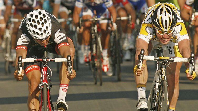 Mark Cavendish, vainqueur au sprint de l'édition 2009 (MARCO TROVATI/AP/SIPA / AP)