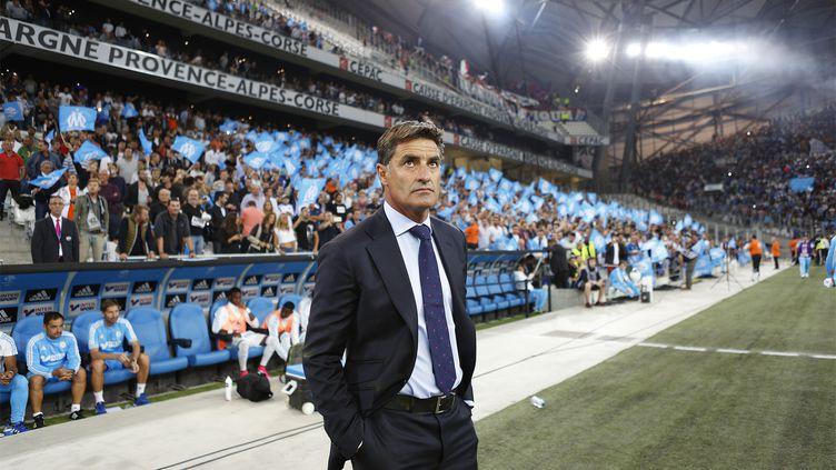 Michel, l'entraîneur de l'Olympique de Marseille (PHILIPPE LAURENSON / BLUEPIX)