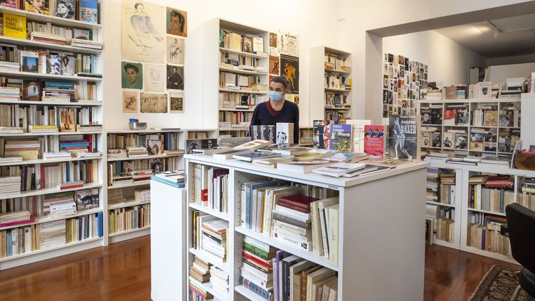 Une librairie de Nice, mars 2021. (SYSPEO/SIPA)