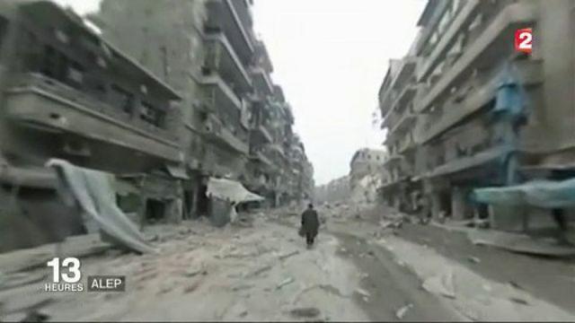 Syrie : la Vieille ville d'Alep reprise par le régime syrien