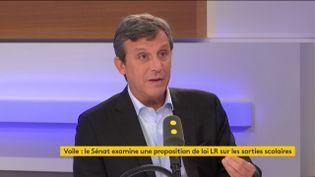 Le sénateur de Paris (PS) David Assouline invité de franceinfo le 29 octobre 2019. (FRANCEINFO / RADIOFRANCE)