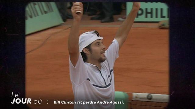 Le jour où Bill Clinton fit perdre Andre Agassi