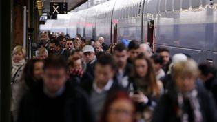 La gare de Lyon, à Paris, le 5 décembre 2014. (MAXPPP)