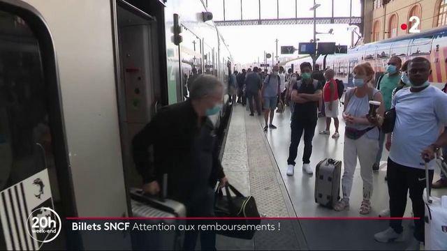 Transports : la SNCF met fin à son dispositif exceptionnel de remboursement des billets